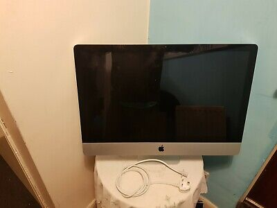 "Apple iMac A1312 27"" Desktop works but no hard drive"