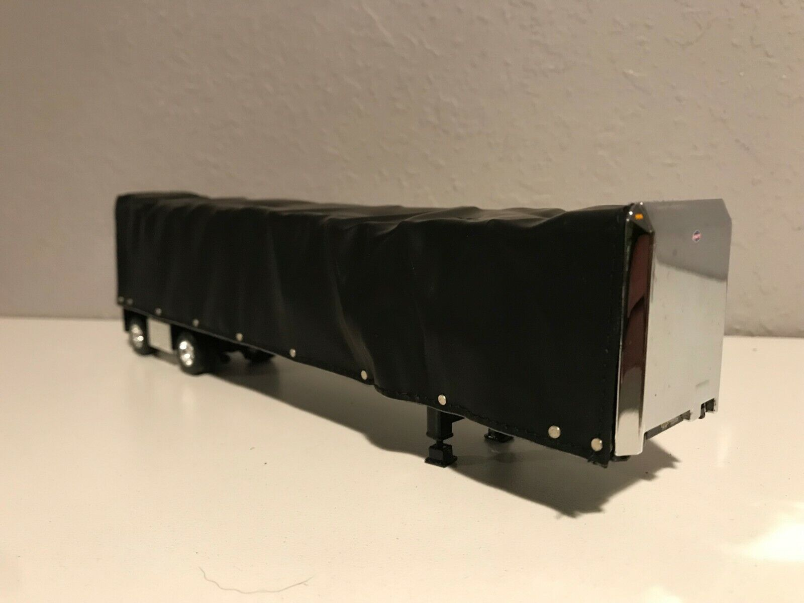 NEW DCP BLACK UTILITY CURTAIN SIDE TRAILER (CURTAIN SIDE SLIDES BACK & FORTH)