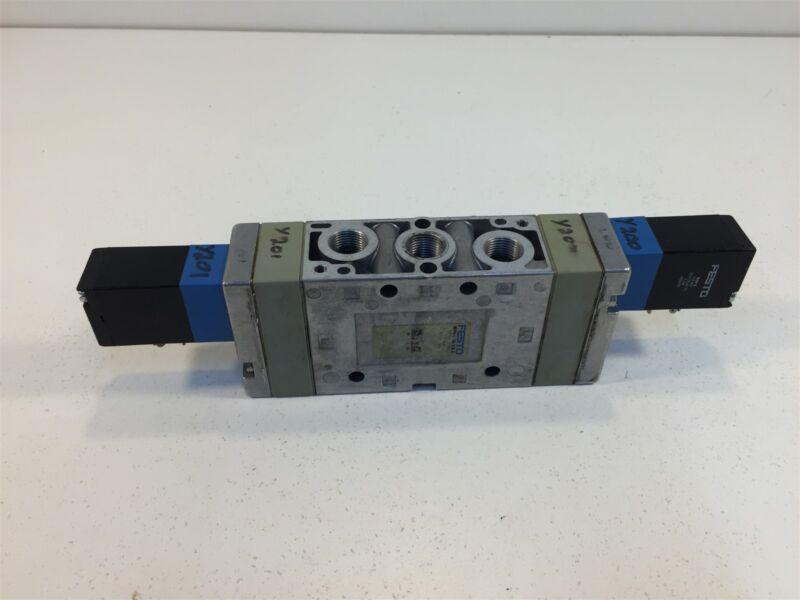 Festo MVH-5/3G-3/8-B Valve Used