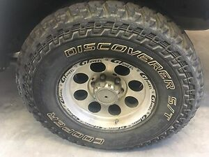 """Cooper ST maxx 285/75 R16 (33"""") All Terrain Tyres on GT Alloy Wheels Officer Cardinia Area Preview"""