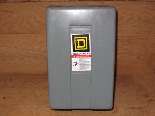 Square D 8903lxg40 Enclosure With Contactor Csq