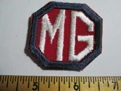 MG Patch NOS Original Embroidered Vintage Transportation Auto