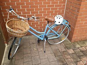 Bicycle & Helmet - Reid - Vintage Ladies