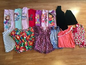 Girls size 5/6 clothes (mostly size 5)