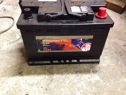 Car battery 600 CCA  4x4 Bellbird Heights Cessnock Area Preview