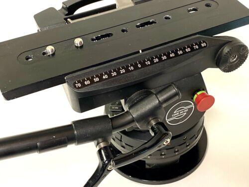 Sachtler Cine 30HD w/Custom Innerspace Two Head Rolling Case