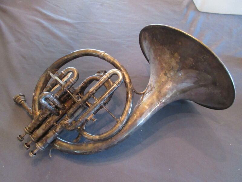 Holton mellophone; 1920 manufacture, good condition