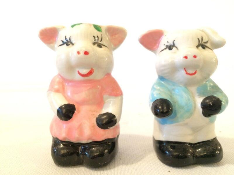 Pig Salt And Pepper Shakers Ebay