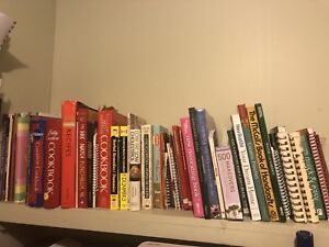Cook books and craft books