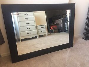 Black Decorative Mirror - $60