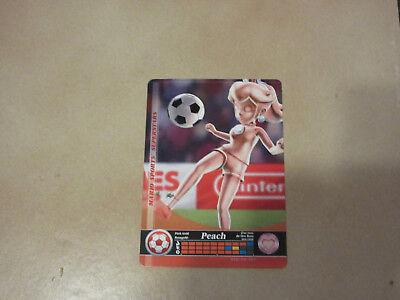 Rosagold Peach Fußball - Mario Sports Superstars Amiibo Karte 86 *Neu 086-DN-D0P