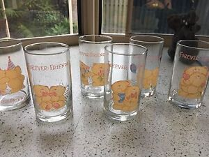 Brand new 6 forever friends glasses. Merrimac Gold Coast City Preview