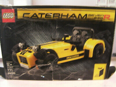 Lego Ideas 21307 Caterham Seven 7 620R Model Car 771 Pieces FREE SHIPPING AS-IS