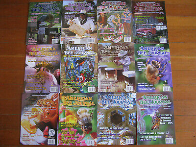 2014 American Bee Journal Bee Keeping Magazines Lot Of 12