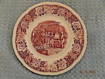 Homer Laughlin Dessert - Homer Laughlin Historical America Salad/Dessert Plate Liberty Bell