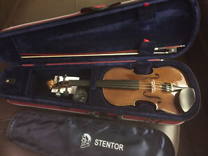 Like New Stentor Violin with Case and Bow