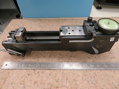 Precision Gage Vari-roll Mdl C Gear Measuring System Tester Ms21