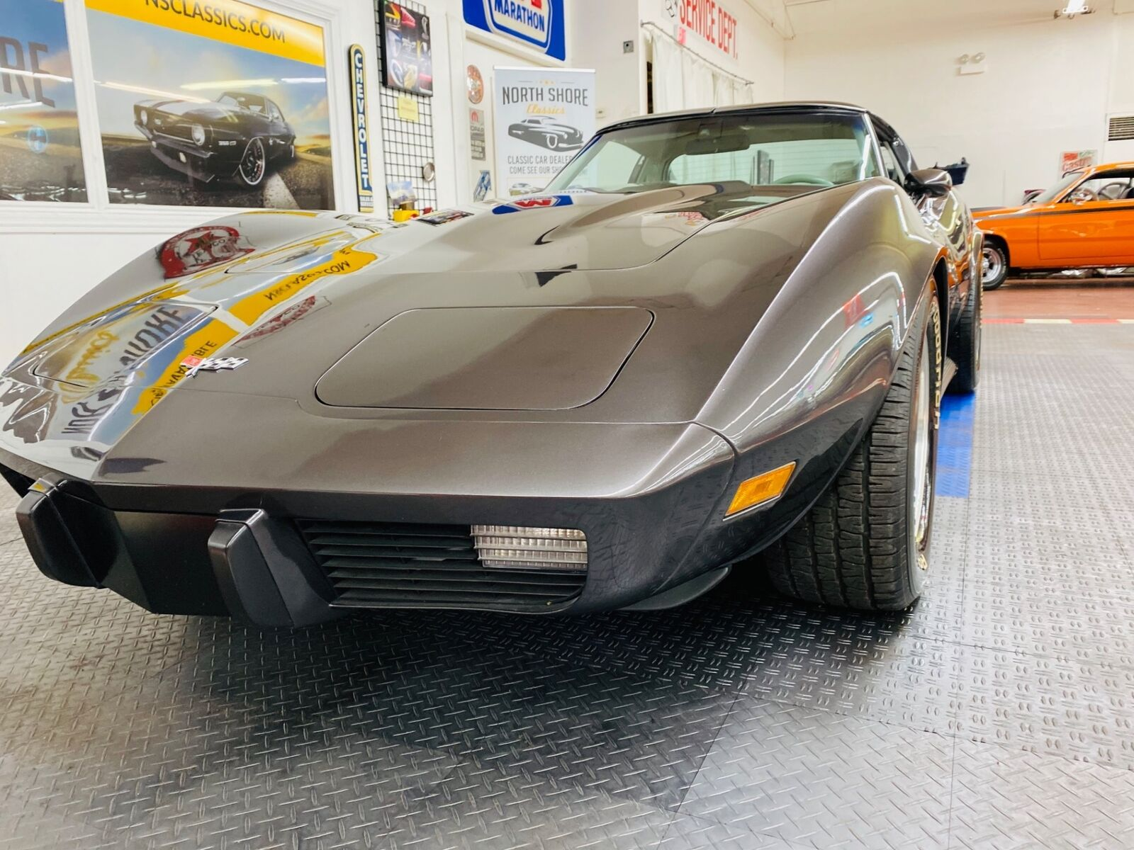 1977 Gray Chevrolet Corvette   | C3 Corvette Photo 8