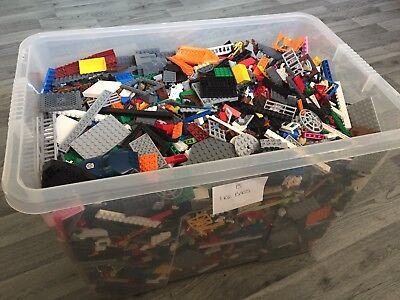 Genuine Lego 1kg-1000g Massive Job Lot Mixed Bundle Of Lego (out of box) Box B