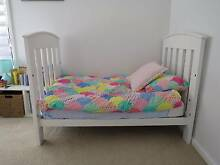 White Boori Classic Cot & Change Table Collaroy Manly Area Preview