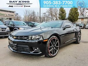 2015 Chevrolet Camaro V8, MANUAL, BACK UP CAM, BLUETOOTH, LEATHE