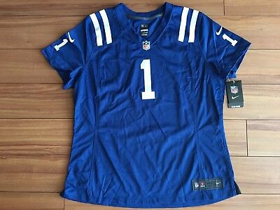 Nike NFL Indianapolis Colts Pat McAfee Women Size XXL On Field Jersey  469902-438 a97828e7f