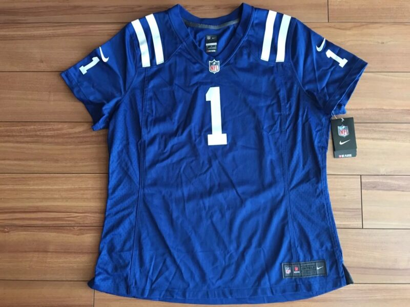 Nike NFL Indianapolis Colts Pat McAfee Women Size XXL On Field Jersey 469902-438