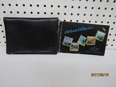 1999 Chevrolet Malibu Owners Manual Set     FREE SHIPPING