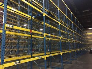 Warehouse liquidation Sale Pallet racking and equipment