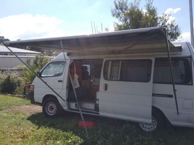 DOMETIC ROLL OUT CARAVAN OR CAMPERVAN AWNING | Caravan ...