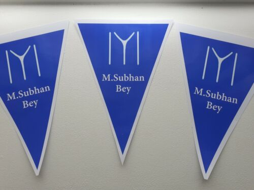 Ertugrul Personalised Party bunting + Balloons + 14 Flag Cake Toppers + wrapping