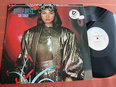"ANGELA BOFILL – TOO TOUGH– 12"" Maxi Vinyl 1983 – Soul/Funk – Top Zustand"