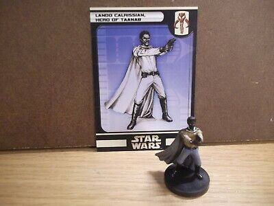 Star Wars Miniatures - Lando Calrissian, Hero of Taanab 21/60 - Rare - Universe