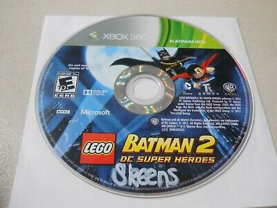 LEGO Batman 2: DC Super Heroes (Xbox 360, 2012) Disk Only Professional Cleaned