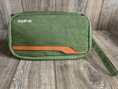 Intipal RFID Travel Passport Wallet Compartments For All Travel Documents Green - $10.99