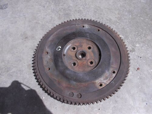 Allis Chalmers G tractor AC engine motor flywheel & starter ring gear good CK
