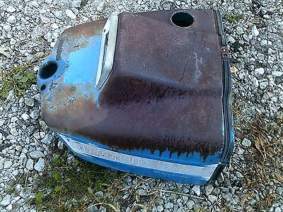 Ford 3000 Tractor Nice Original Dent Free Dash Hood For Over Tank