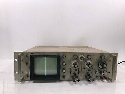 Hp 1200b Oscilloscope Vintage Rack Mount Tested And Working