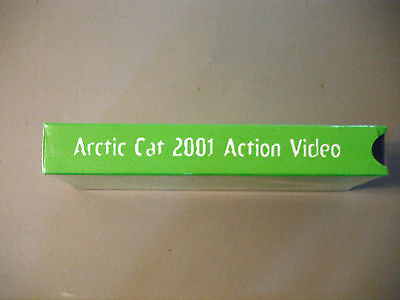 Arctic Cat 2001 Snowmobile Action VHS Video