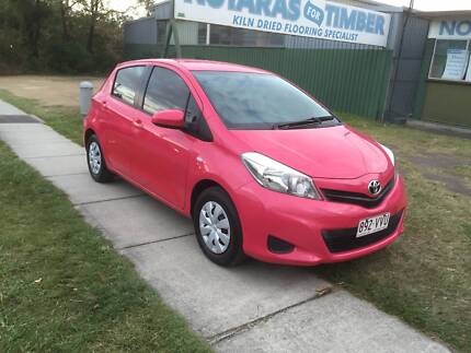 2014 Toyota Yaris Hatchback, Automatic Registered, Drive Away. Seventeen Mile Rocks Brisbane South West Preview