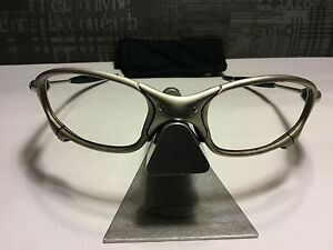 oakley x metal  oakley x metal juliet plasma rare serialized frame only