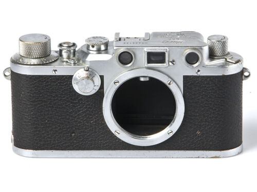 Leica IIIC D.R.P Ernst Leitz Wetzlar Camera Body, Made in Germany *SHIPS FREE*