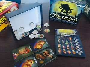 One Night. Ultimate Werewolf amazing board game for groups