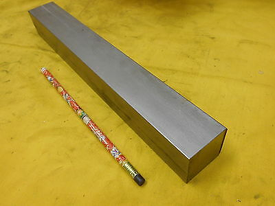 304 Stainless Steel Square Bar Stock Flat Rod 1 12 X 1 12 X 12 Oal