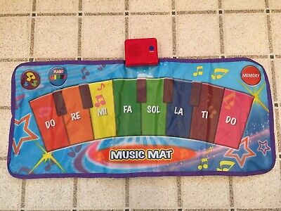 Kids Musical Piano Floor Mat Dance Fold Away - Floor Piano Keyboard