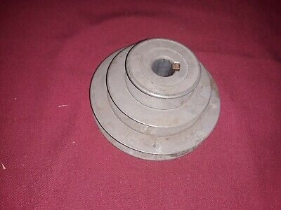 Congress Tool Die Cast Zinc Step Pulley 2 3 4 In. Dia.