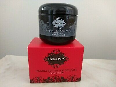 Fake Bake Tanning Butter for Dry Skin 4 fl.oz Authentic