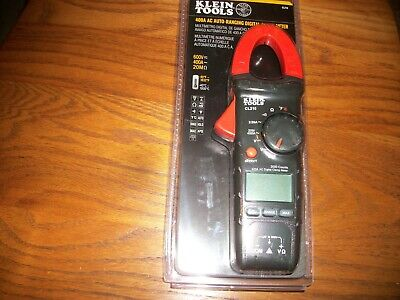 Klein Tools Cl210 400amp Ac Auto-ranging Digital Clamp Meter Wtemp New In Pack