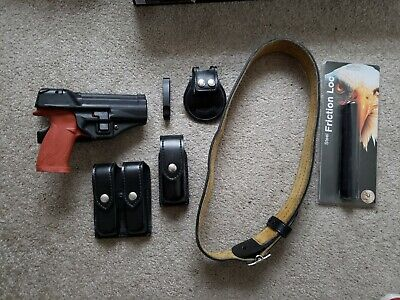 Safariland Police Duty Belt With Accessories