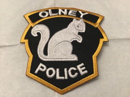OLNEY POLICE ILLINOIS PATCH